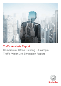 Traffic Analysis Report Commercial Office Building