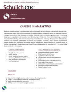 Marketing - Schulich School of Business
