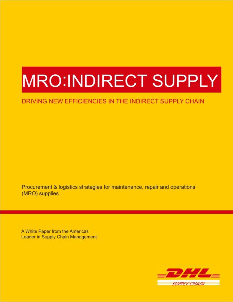 mro indirect supply