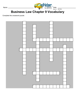 Gregarious crossword puzzle
