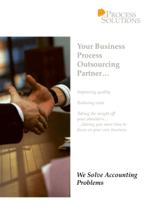 Introduction of Process Solutions Group - www.ps