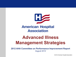 Advanced Illness Management Strategies