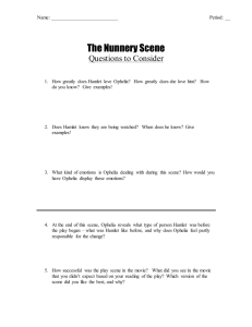 The Nunnery Scene Questions to