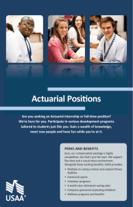Actuarial Positions