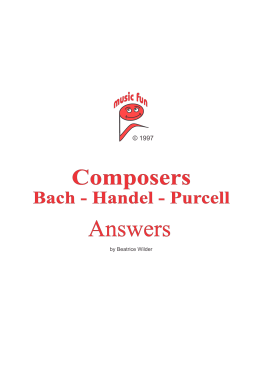 Composers - Music Fun - Music Fun Worksheets