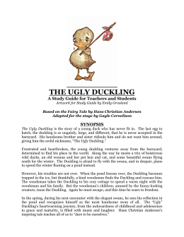 """The Ugly Duckling"" Study Guide for Teachers and"