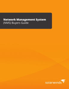 Network Management System (NMS) Buyers Guide