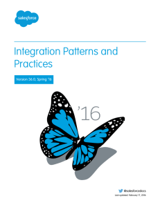 Integration Patterns and Practices