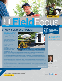 ROCK-SOLID SYMPOSIUM