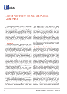 Speech Recognition for Real