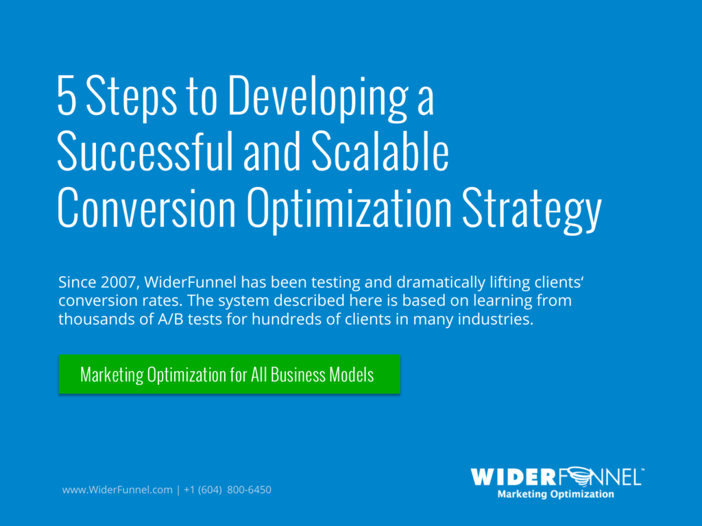 5 Steps to Developing a Successful and Scalable Conversion