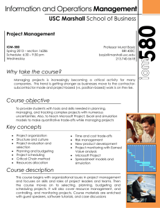 Information and Operations Management