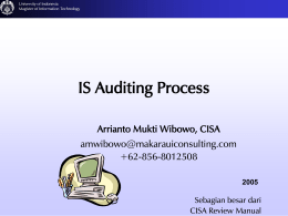 IT Audit - IT Governance Lab