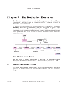Chapter 7 The Motivation Extension