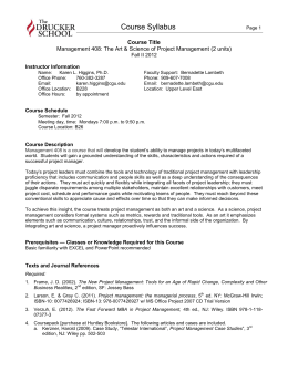 project outline of woody 2000 project This is a document useful in outlining the work of a project manager  sample project charter  april 7, 2000.