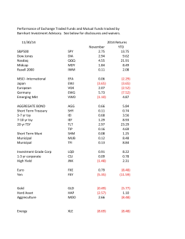 BIA November 2014 ETF:Funds Sheet1