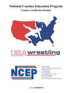 National Coaches Education Program - TheMat.com