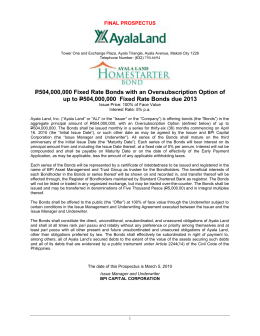 - Ayala Land | Investor Relations