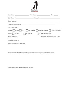 C4H Application Form - Companions For Heroes