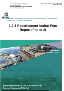 Resettlement Action Plan Report (Phase 2)
