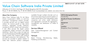 Value Chain Software India Private Limited
