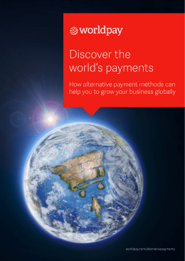 Discover the world's payments