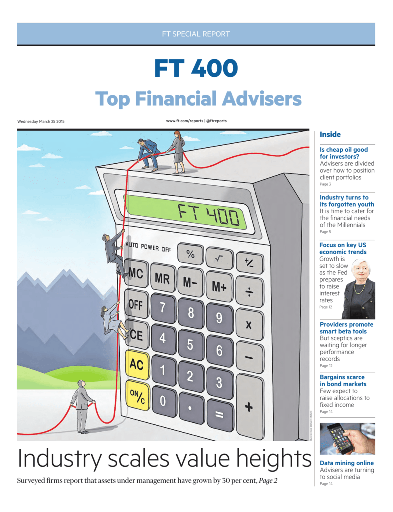 Financial Times Top 400 Financial Advisers