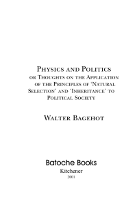 Physics and Politics - Socserv2.mcmaster.ca