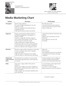 Media Marketing Chart - Entrepreneurship.org