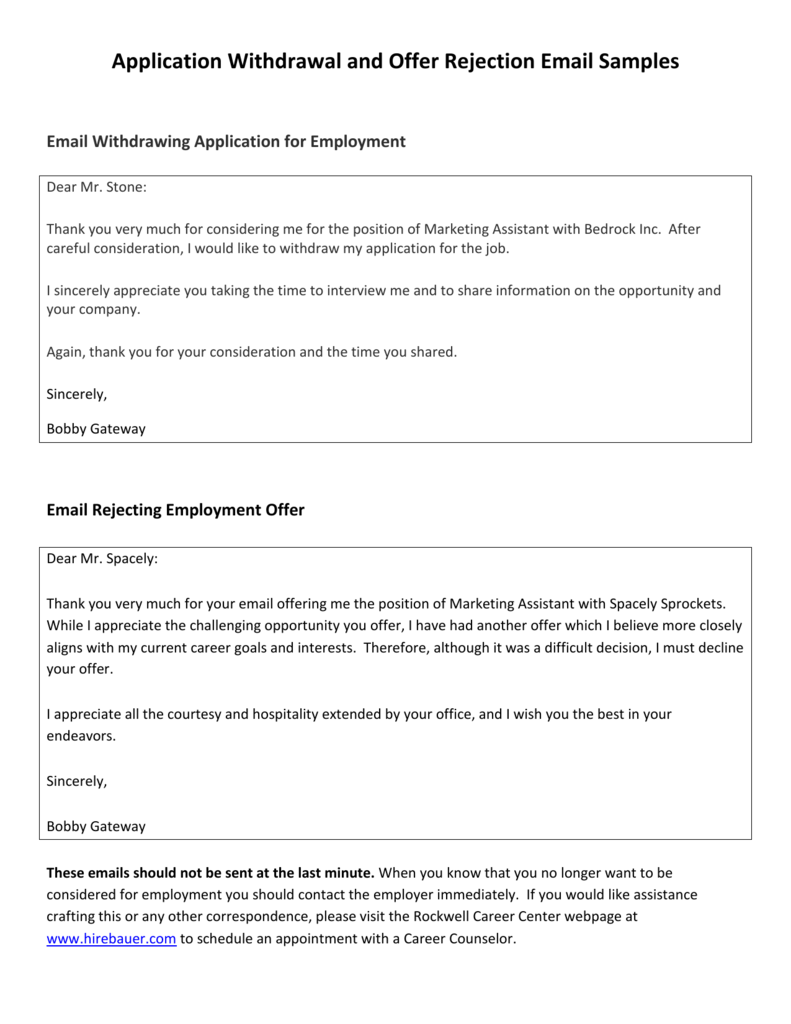job application rejection letter email A really common question in the job search is should i respond to a job rejection i say yes but replying to an email is just the polite thing to do.