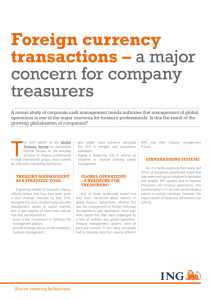 Foreign currency transactions – a major concern for company