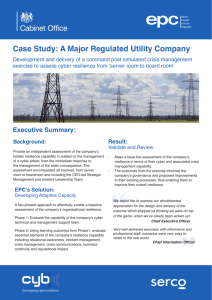 Case Study: A Major Regulated Utility Company