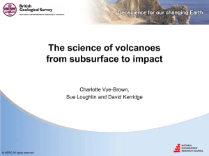 The science of volcanoes from subsurface to impact