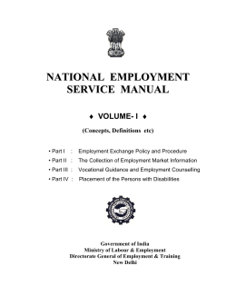 Director's order 21 and reference manual 21 partnerships (u. S.