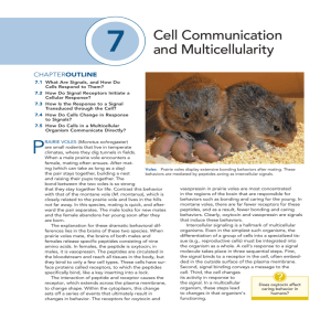 3 Cell Communication and Multicellularity