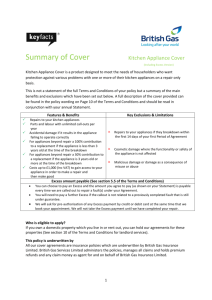 Summary of Cover Kitchen Appliance Cover