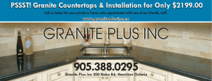 - Granite Plus Inc.