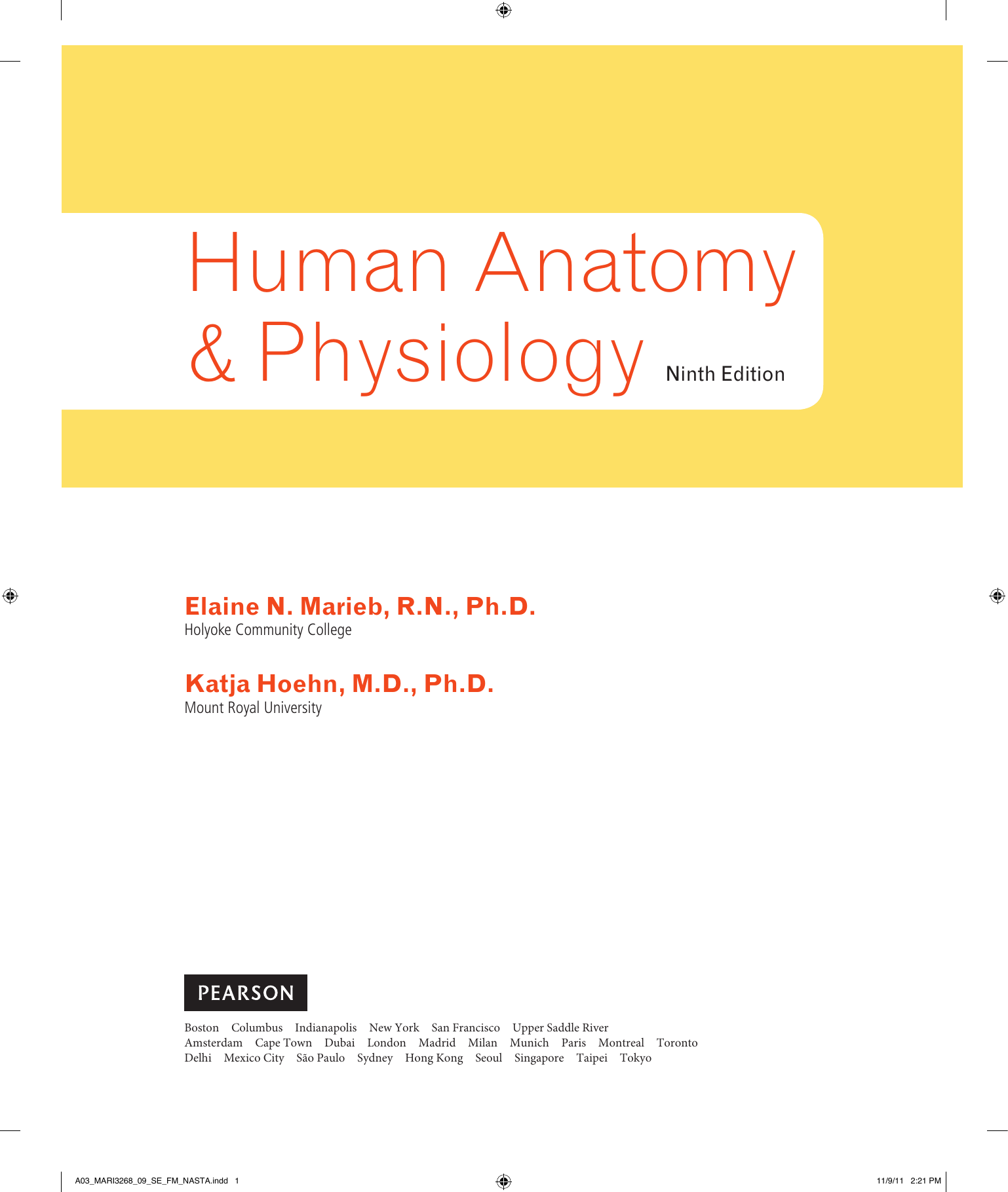 Human Anatomy & Physiology Ninth Edition