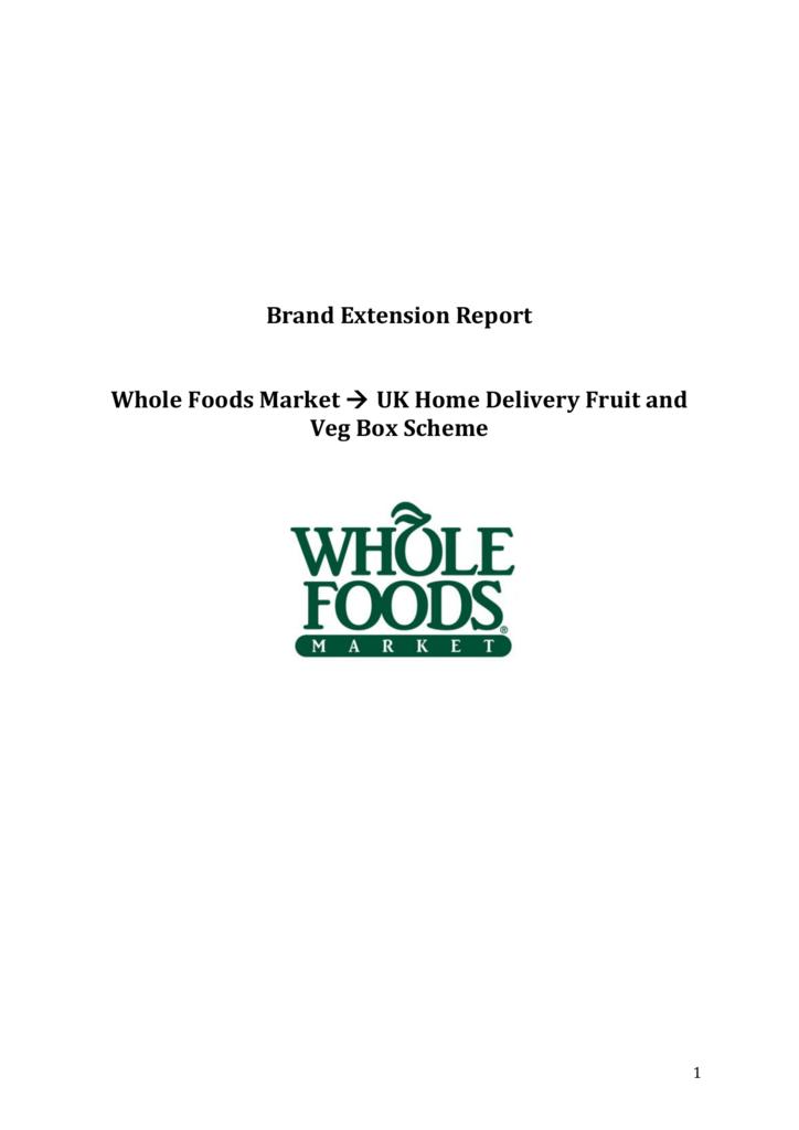 whole foods list