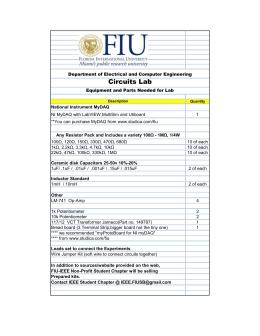 Ohms Law Worksheet