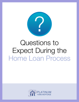 Ebook_Questions to Expect During the Home Loan Process 020816
