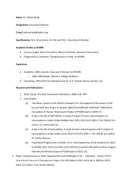 A pdf the case centre cv sp jain institute of management research mumbai fandeluxe Images