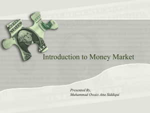 Introduction to Money Market