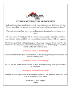 WELLER CARTOGRAPHIC SERVICES LTD.