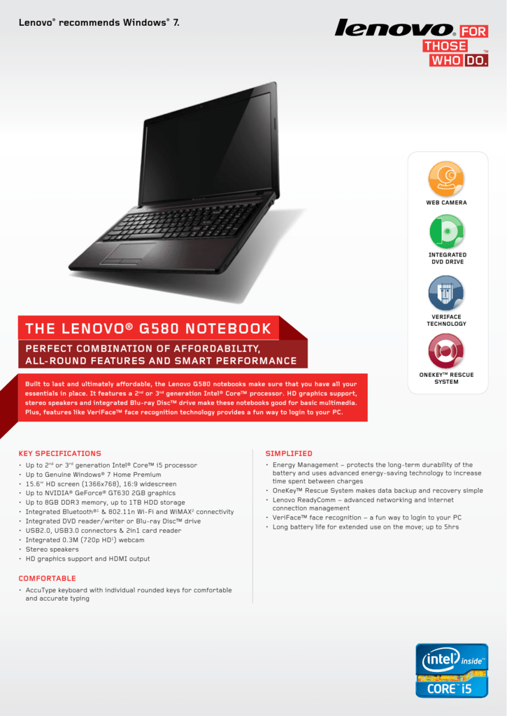 DRIVERS LENOVO G580 YOUCAM