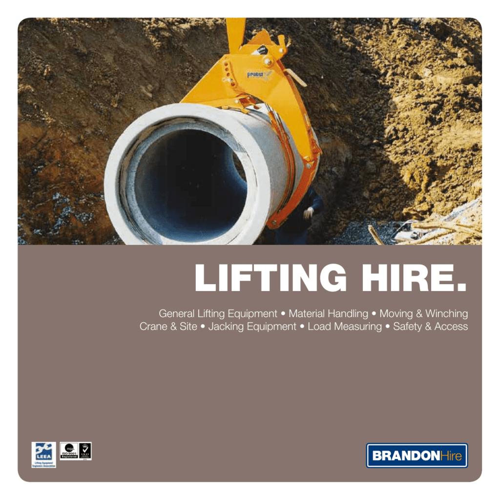 lifting hire  - Brandon Tool Hire