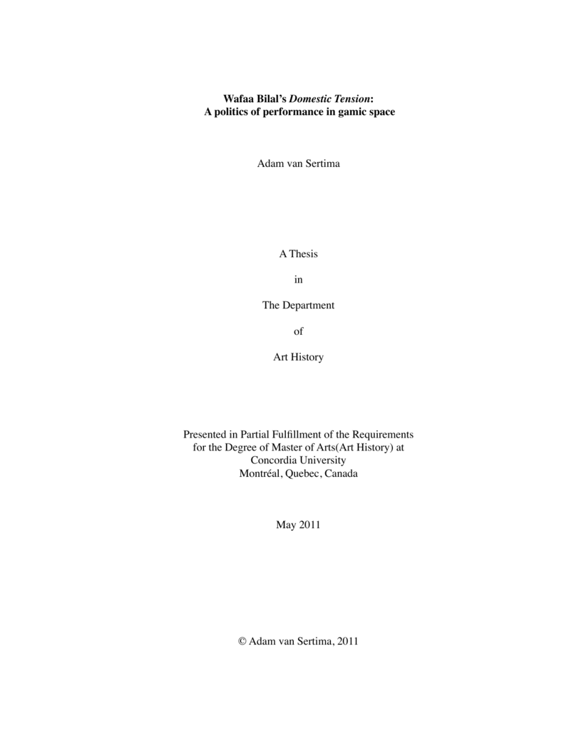 van sertima thesis