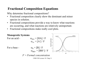 Fractional Composition Equations