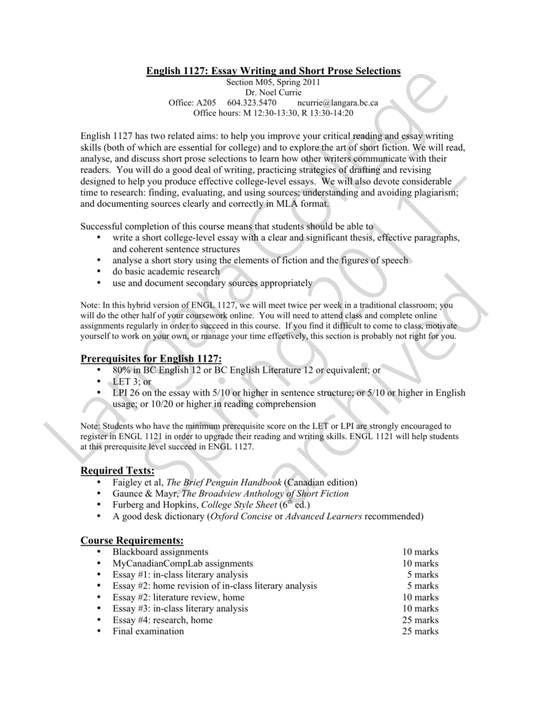 Self Control Essay  Romeo And Juliet Essay Quotes also Essay On Healthy Living English  Essay Writing And Short Prose Tips For Writing Argumentative Essays