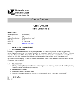 law 2101 course outline 2014 15